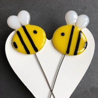 Glass Bee Stakes