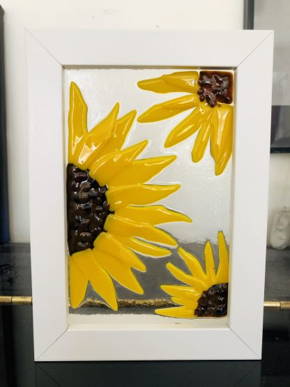 sunflower box frame opaque yellow