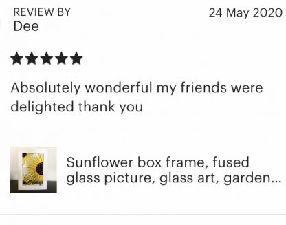 Etsy customer review 1