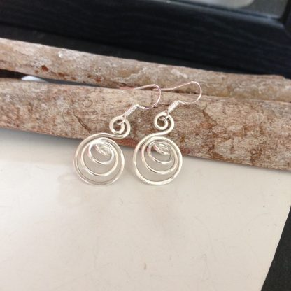 3D spiral earrings